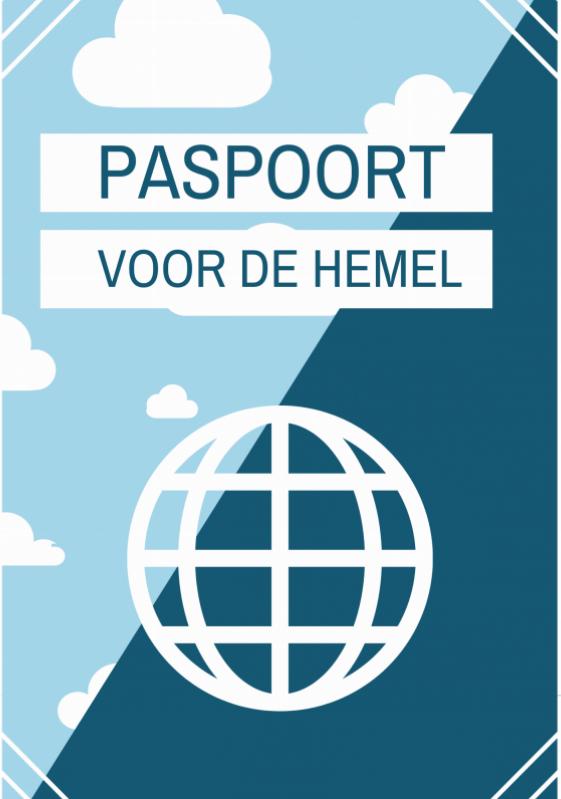 Evangelisatieboekje Paspoort