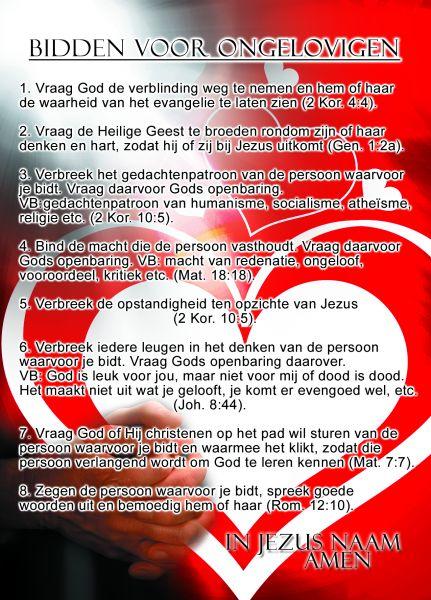Proclamatiekaart Bidden Voor..