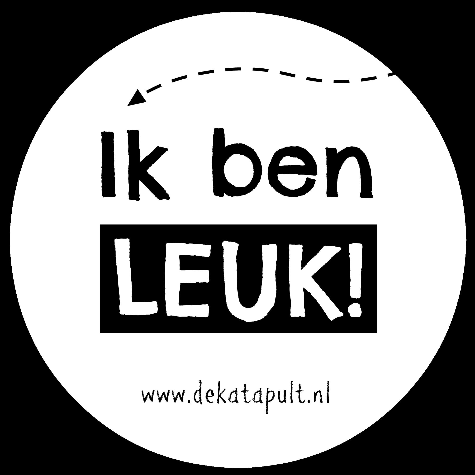 Sticker Leuk