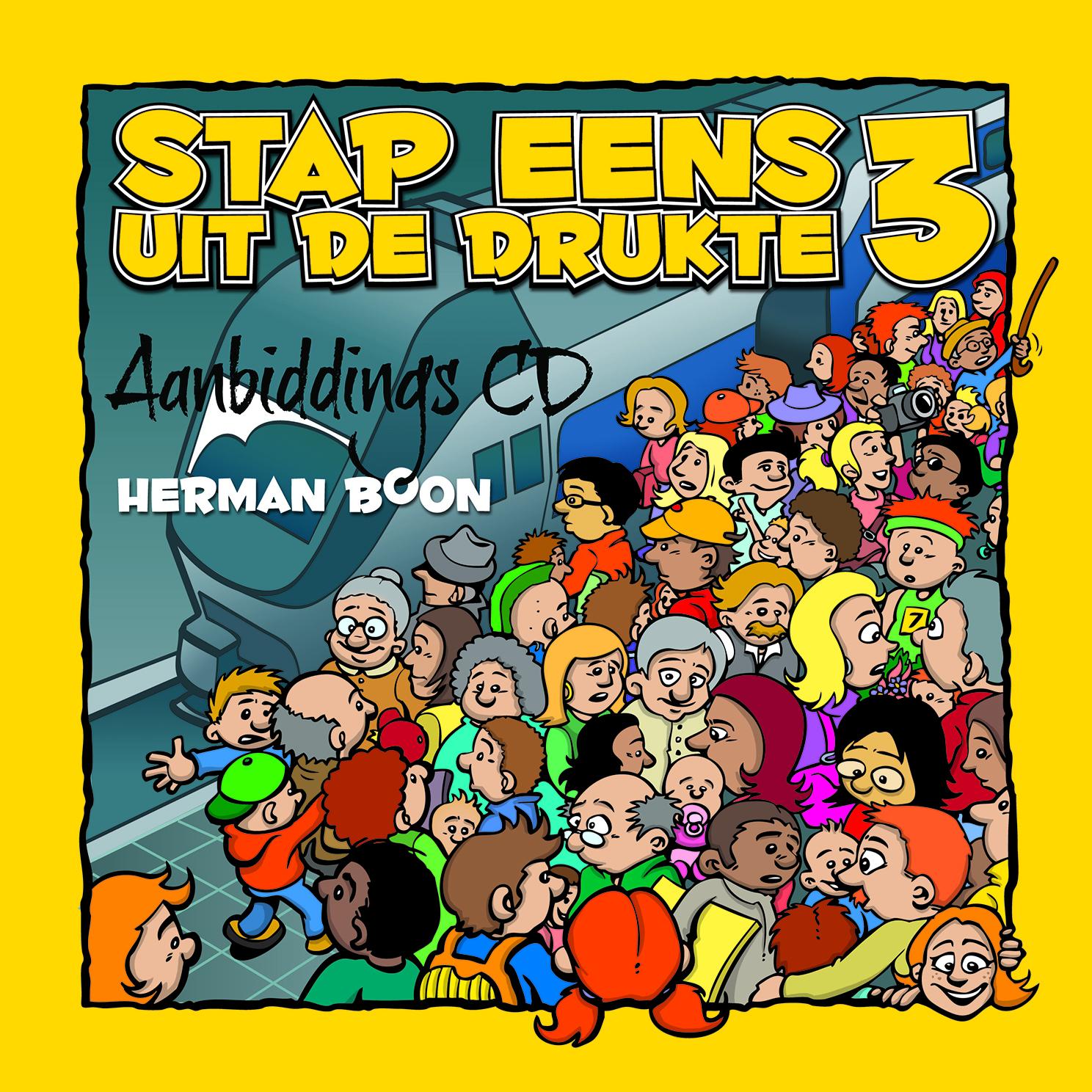 CD Stap Eens Uit De Drukte 3