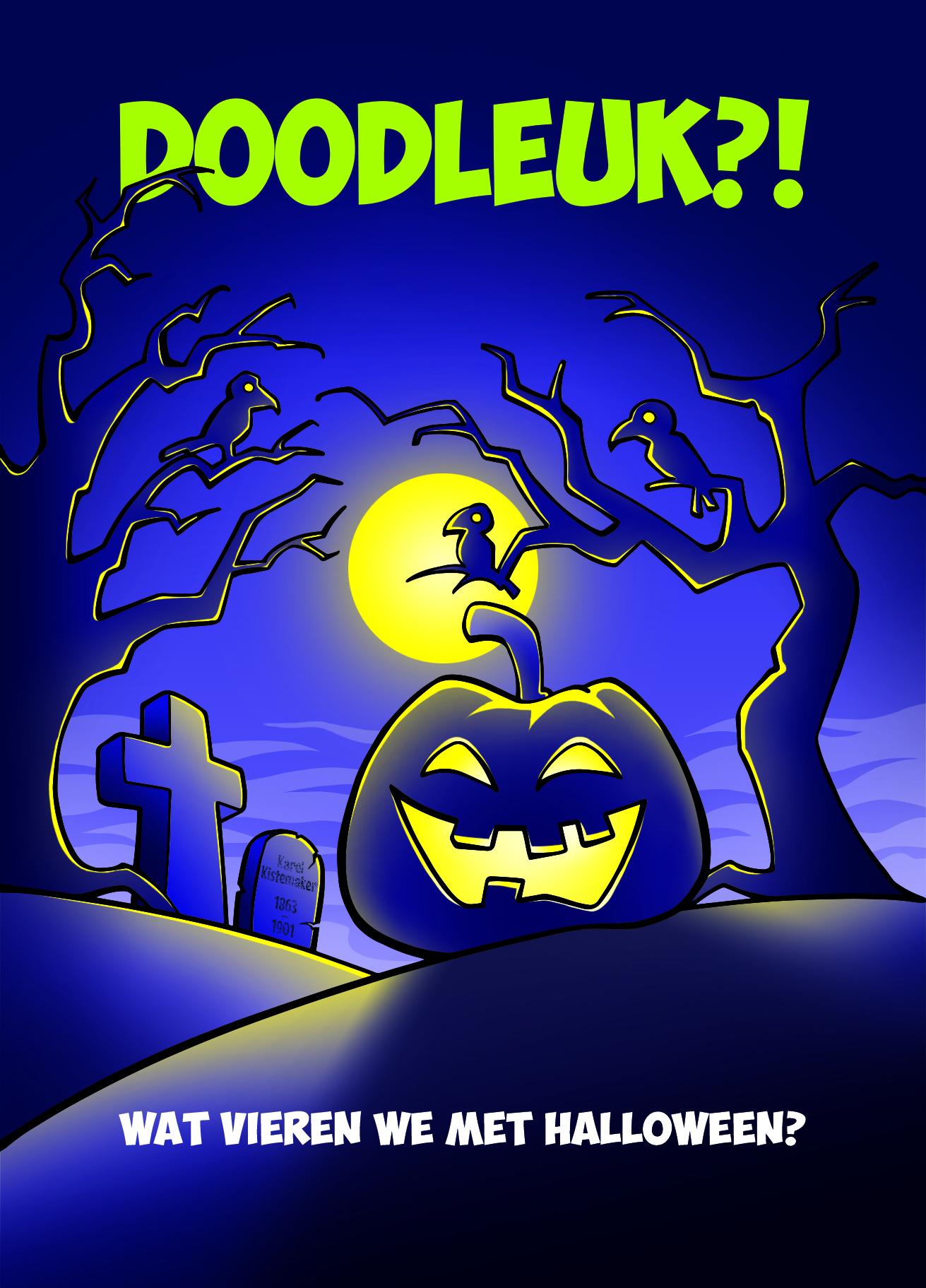 Evangelisatieboekje Halloween