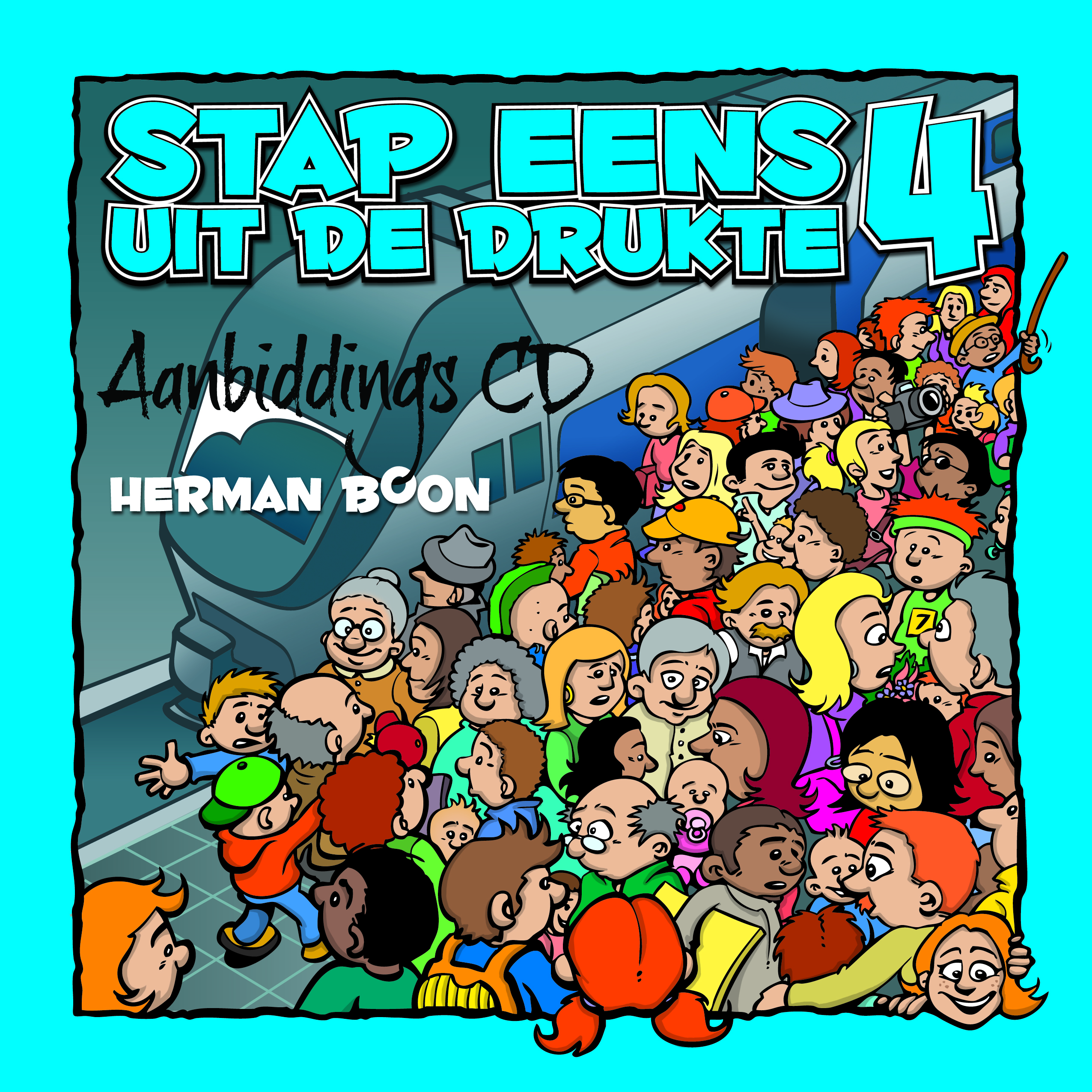 CD Stap Eens Uit De Drukte 4